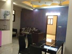 Semi- furnished 3 bhk flat in noida Ext. sec-4