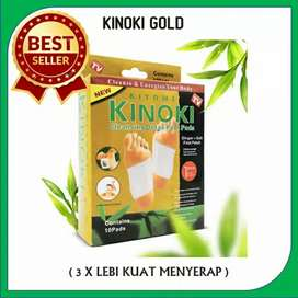 Kinoki gold 1 box isi 10 sachet