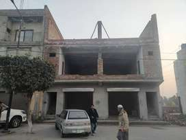 9.6 Marla 2 Plaza for sale in Lahore Garden On hot location