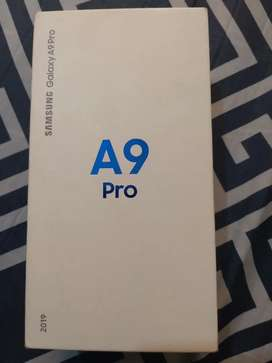 Galaxy A9 pro 6gb 128 with box new condition