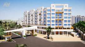 1Bhk + Terrace flat for sale in Paramount Enclave. Palghar West