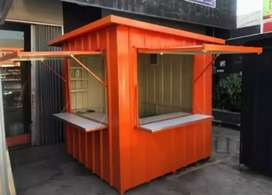 Booth container custom