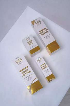 Erste Beauty ( body lotion , shower scrub, face serum, face spray )