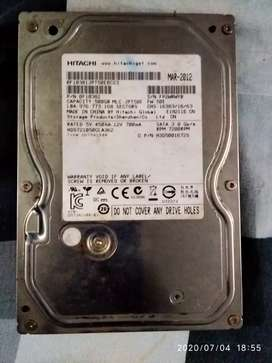 Hitachi hard disk 500gb