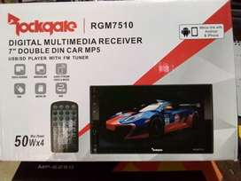 "ROCKGATE RGM7510 DIGITAL MULTIMEDIA RECEIVER 7""DOUBLE DIN CAR MP5"