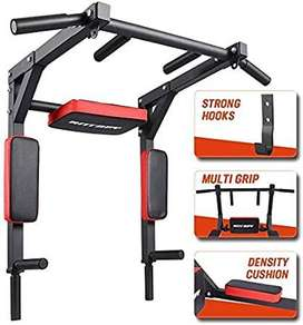 5 in 1 Pull Up bar exercising. Unlike a ordinary exercising on a syste