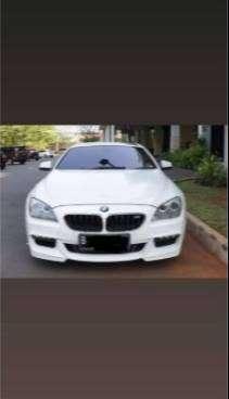 BMW 640i Coupe 2014 White on Black