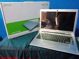 Laptop acer V5 431 fullset