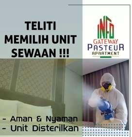 SEWA Unit Harian Bulanan Gateway Pasteur Apartment