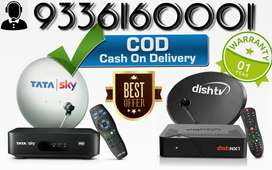 Book the all new Tata Sky dth & Dish tv set- top connection with COD