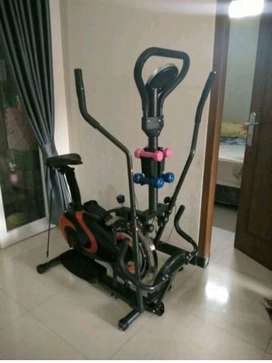 alat fitness import murah bergaransi # orbitrak 802i  htm-orange
