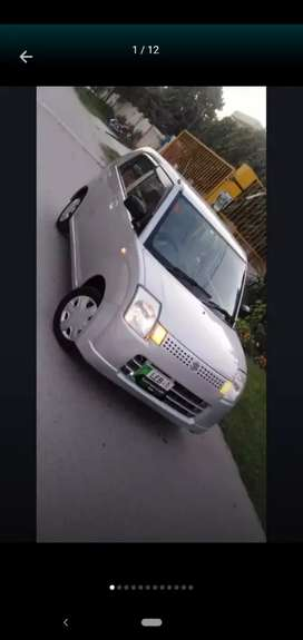 Japanese Alto available for rent with driver.