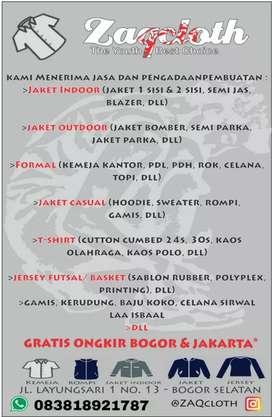 Konveksi murah Bogor