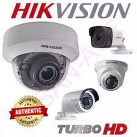 Paket CCTV Online FULL HD MATA 2 kamera 2MP + instalasi ( Bekasi )