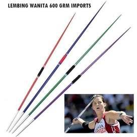 Lempar Lembing Alat Atletik Wanita Import 800 Gram Panjang 2.15 M