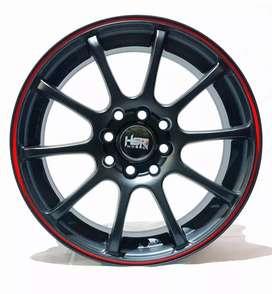 Jual velg Racing HSR Ring 15 Utk mobil Brio, Karimun, Agya,calya,sigra