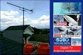 Teknisi Ahli Antena tv uhf + pararel