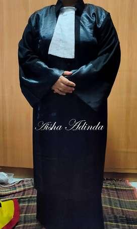 Pakaian Baju Toga Jubah Advokat Pengacara Hakim