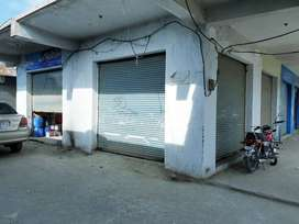 Two Corner Shops for sale, Cantonment board plaza Risalpur Cantt.