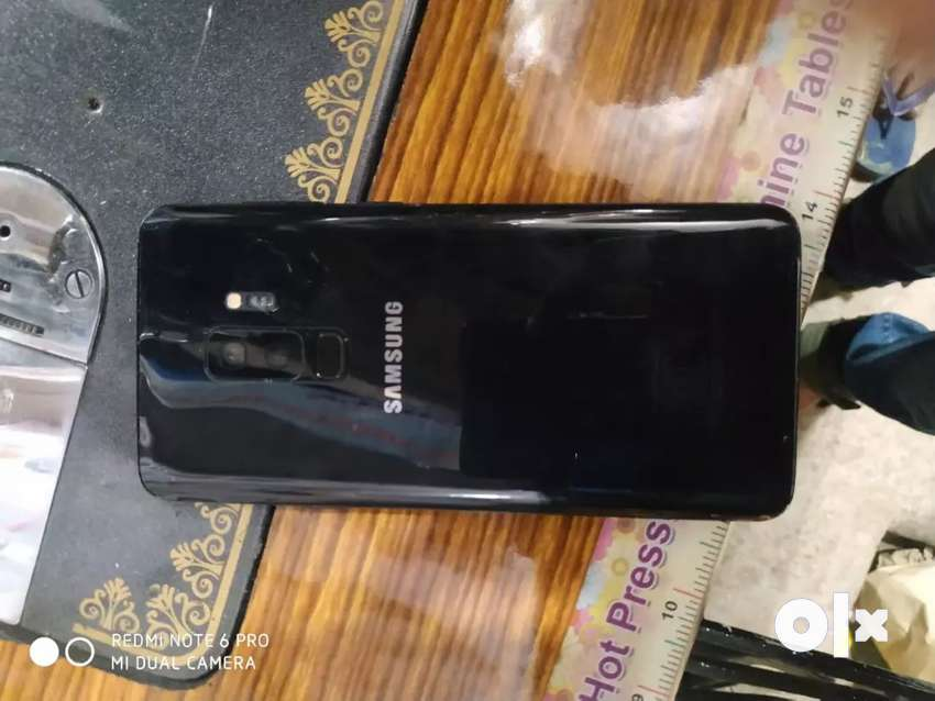 S9PLUS 256gb internal  6gb ram 0