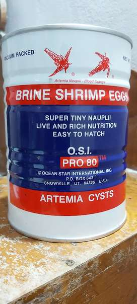 O S I ARTEMIA CYSTS AVAILABLE