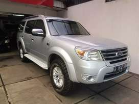 Jual Cepat Ford Everest 4x4 MT Tahun 2012 Silver Metalik