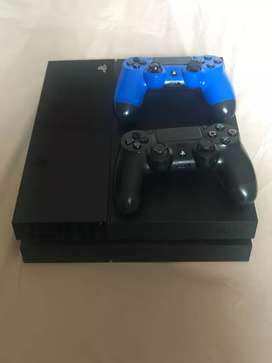 PS4 / Playstation 4 / PS 4 Fat 500gb Second Fullset Normal Mulus