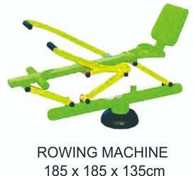 Rowing Machine Alat Fitness Outdoor Termurah Garansi  1Tahun