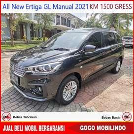 [Dp15jt] All New Ertiga GL Manual 2021 KM 1500 GRESS Batal Pakai