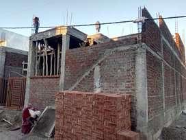 House for sale under constructio,(1500 sq ft)sanjivani nagar