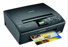 Brother DCP-J125 color photo printer..scanner and xerox