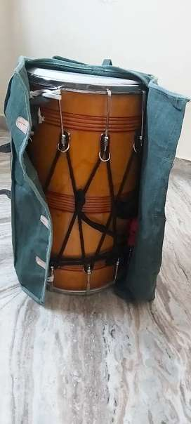 Dhol with decoration