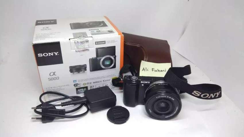 Sony A5000 Kit Fullset 0