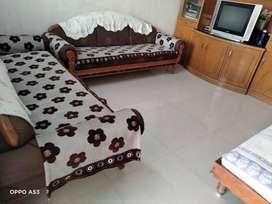 Sag Wood Sofa