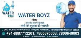 Need delivery person for waterboyz app in varanasi location.