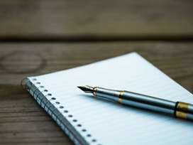 Hand writing part time home base job weekly 13000/-