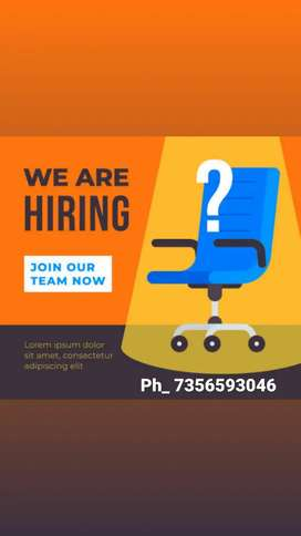 We are hiring new  manager