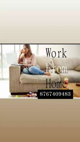 Not any hard work. Spend some time in typing and get higher income
