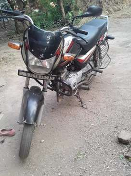One year old Bajaj /ct 100 bike for sell