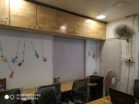 7000 Rent for 5 seater private office With Md table fully fernished