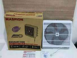 PROMO-EXHAUST FAN IN OUT MASPION MV300NEX KIPAS HISAP DINDING 12IN-TOP