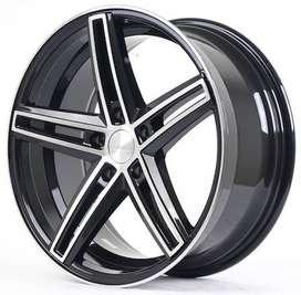 velg hsr wheel ring 18x8 hole 5x114 bisa utk mobil hrv,juke,innova