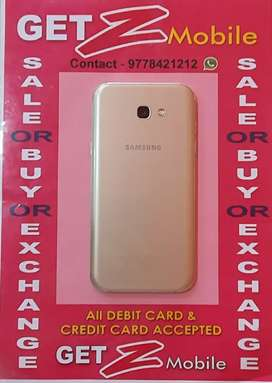 Smasung Galaxy A7 Gold 17 Edition