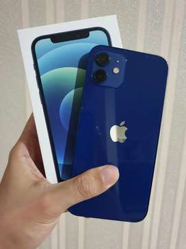 Iphone 12 128 gb blue grsi resmi 11 bulan