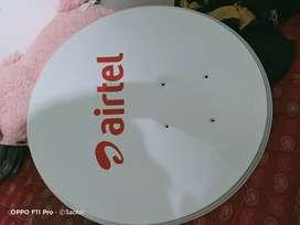 Airtel HD Set Top Box And Dish