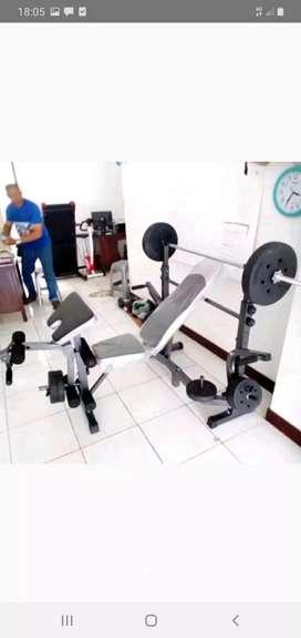 Benpres Alat olahraga angkat beban40kg MLN453
