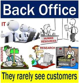 urgent Hiring For Data Entry & Back office