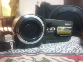Pristine condition Sony camcorder imported from Germany