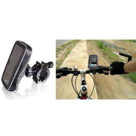 Universal Bike Mount with Waterproof Case for Smartphone 5.5-6 Inch