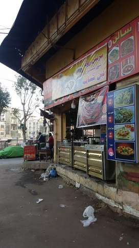 Running chai nashta and any other food setup for rent